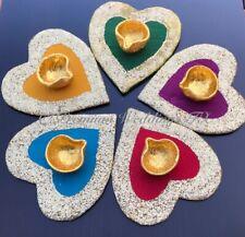 Heart Thaali Centerpiece Decorations, Shaadi Decor, Centepieces, Wedding Decor