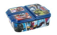 Marvel Avengers Premium Brotdose Lunchbox Frühstücksbox Sandwichbox Vesper