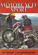 Motorcycle Sport Magazine - BMW R100RT Harley Davidson 883 Sportster BMW R100GS