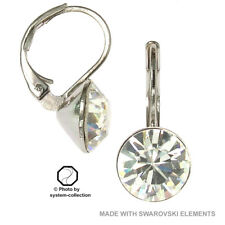 Earrings with Swarovski Elements, Colour: Transparent/Clear