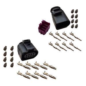 Stecker 8-polig Reparatursatz für VW 1J0973714 1J0973814 Steckverbindung Crimp