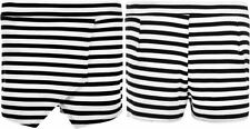 Summer/Beach Striped Regular Size Skirts for Women
