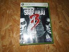 Way of the Samurai 3 (Microsoft Xbox 360, 2009) *****LN*****NO MANUAL*****