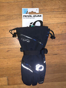 Pearl Izumi PRO AmFib Super Gloves Cycling Men's Medium Black Brand New NWT