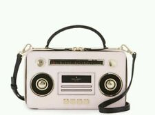 Kate Spade Boom Box Bag NWT Remember Boom Boxes And Mix Tapes! Jazz Things Up!