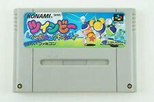 Twinbee Rainbow bell Adventure SNES KONAMI Nintendo Super Famicom From Japan