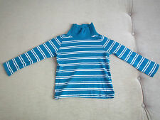 Langarmshirt LA-Shirt Rolli Gr. 110 in blau weiß gestreift von C&A