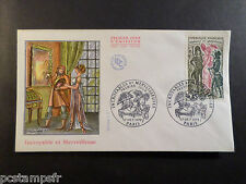 FRANCE 1972, FDC 1° JOUR, HISTOIRE, timbre 1729, FRENCH HISTORY