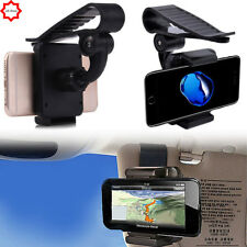 Adjustable Sun Visor Glse Car Clip Mount Holder Stand Cradle GPS PDA Phone DVR