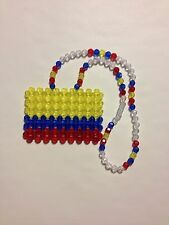 *Handmade* Colombia Colombian Flag for your car's mirror, necklace, or ?