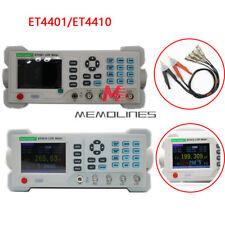 Et4410et4401 Desktop Lcr Meter Lcr Tester Inductance Capacitance Meter Measure