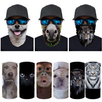 Unisex Balaclavas Bandana Neck Gaiter Face Scarf Cool Windproof Fishing Cycling