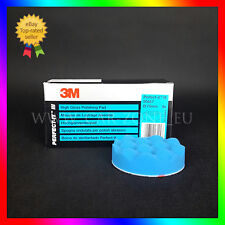 1 x 3M Perfect-it III spugna blu ondulata per polish abrasivo (75 mm) 50457