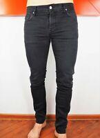 J. LINDEBERG DAMIEN BLACK STRETCH Slim Fit Skinny Leg Dark Wash Jeans W32 L34