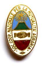 Distintivo Soc. Coop. Nazionale Per La Mutualità Agraria (Pagani Milano)
