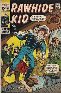 Rawhide Kid #85   March 1971   Marvel Comics