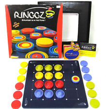 2005 Blue Orange Games Ringgz Strategy is in the Ring Wooden Board Game Euc! Fun