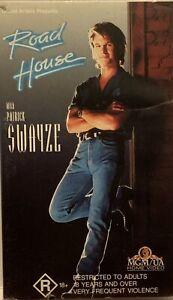 Road House VHS Patrick Swayze Kelly Lynch Ben Gazzara 1989