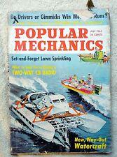 POPULAR MECHANICS MAGAZINE Back Issue JULY 1963