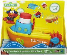 NEW Playskool Elmo Bath Adventure Steamboat Toy Fun Play Set