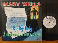 Mary Wells - I Don't Want To Take A Chance VMP Vinyl Me Please Anthology Vinyl