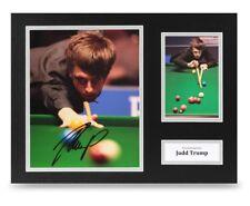 Judd Trump Signed 16x12 Photo Display Snooker Autograph Memorabilia + COA