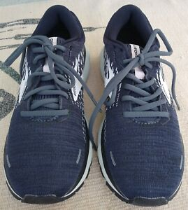 Brooks Ghost 13 Women's Comfort Cushioned Athletic Sneakers NAVY Size 8