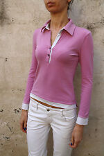 North Sails Damen Langarm Polo Top Stretch Auth pink S Small