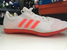 Adidas Adizero Avanti Running Spikes Bb4092 Boost White/Orange size 13