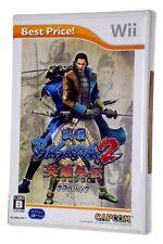SENGOKU BASARA 2 HEROES (CAPCOM) RARE JAP / JAPANESE Original Nintendo Wii Game