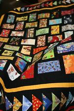 "Finished Quilt - WITH MY LITTLE EYE - 61"" x 51"""