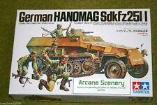 Tamiya alemán Hanomag Sdkfz 251/1 1/35 escala 35020