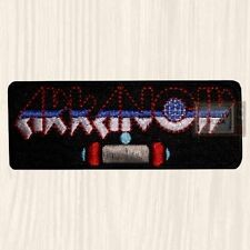 Arkanoid Logo Embroidered Patch Vintage Videogame Arcade Taito Revenge of Doh