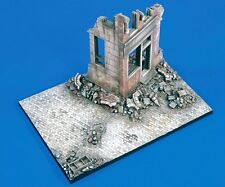 "Verlinden 1/35 ""Street Fighters"" Ruined Building Corner WWII Diorama Base 1699"