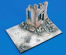 "Verlinden 1/35 ""Street Fighters"" Ruined Building Corner WWII Diorama Base 1699"