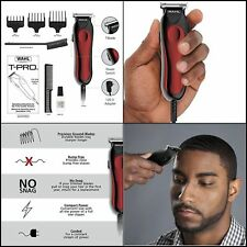 Wahl Professional Hair Trimmer Clipper Haircut Kit T Liner Pro Bump FREE SHIP