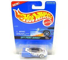 Mattel Hot Wheels Spy Print Series Wht./Blu Car