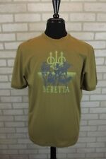 NEW Beretta Mens Tactical T-Shirt M Medium Shirt Tan Short Sleeve Tee NWT Cotton