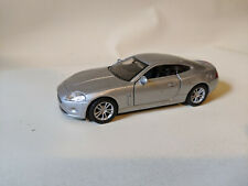 1/38 Scale Jaguar XK Coupe Diecast Model Sports Car - Welly 42395 Silver