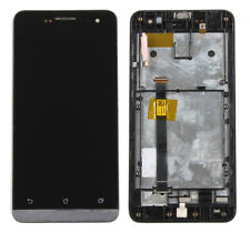 For Asus Zenfone 5 A500CG A500KL Touch Screen Digitizer LCD Display Frame Black
