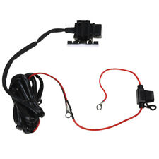 Motorcycle Bike USB Power Supply Port Socket Charger for Cell Phone 12V/24V X1Y4
