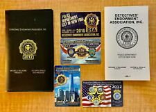 NYPD Police DEA PBA (1) Calendar Book and (4) Card Lot for 2012-2013-2014-2015