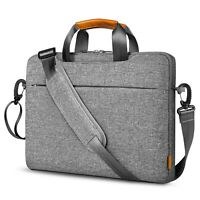 Inateck 15-15.6'' 360° Protective Laptop Shoulder Bag Detachable Shoulder Strap