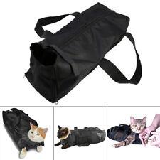 Adjustable Mesh Cat Grooming Bath Washing Bags for Pet Bathing Nail Trimming UK