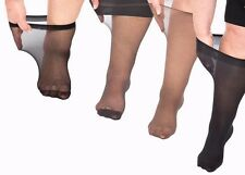 46: Plus Size Knee Highs swollen feet & wide calves - Sample pack 4 pairs to try