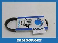 Belt Service V-Ribbed Belt 655MM Dayco For RENAULT Laguna Espace 5PK650