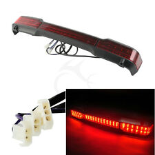 LED Tail Light Trunk King Wrap Around Fit For Harley Street Glide 97-08 Tour Pak