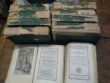 Théatre de P. Corneille et autres morceaux intérressans en 10 tomes complet 1776