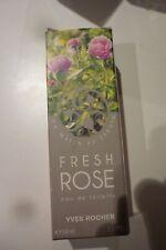 parfum  yves rocher    fresh rose    neuf  sans blister  100ml