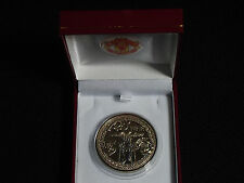 MANCHESTER UNITED 2003 PREMIER LEAGUE CHAMPIONS MEDAL WITH RED BOX AND CREST
